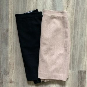 Bundle of Banana Republic Wool Skirts
